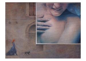 """Wystawy malarstwa Ewy Boguckiej Pudlis -""""Dama z kotkiem"""" @ Szpital Jerozolimski - NOVA GALERIA"""