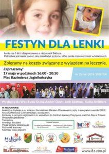 Festyn na rzecz 5-letniej Lenki