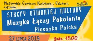 Strefy Otwartej Kultury - Muzyka Łączy Pokolenia-Piosenka Polska @ Piastowska