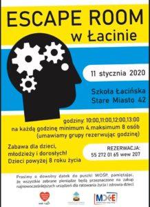 Escape Room @ CKiE Szkoła Łacińska