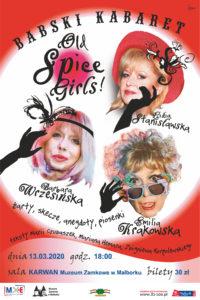 """Babski Kabaret, czyli """"Old Spice Girls"""" @ Karwan - Muzeum Zamkowe"""