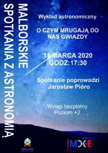 Malborskie Spotkania z Astronomią @ CKiE Szkoła Łacińska