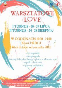 WARSZTATOWE LOVE @ CKiE Szkoła Łacińska