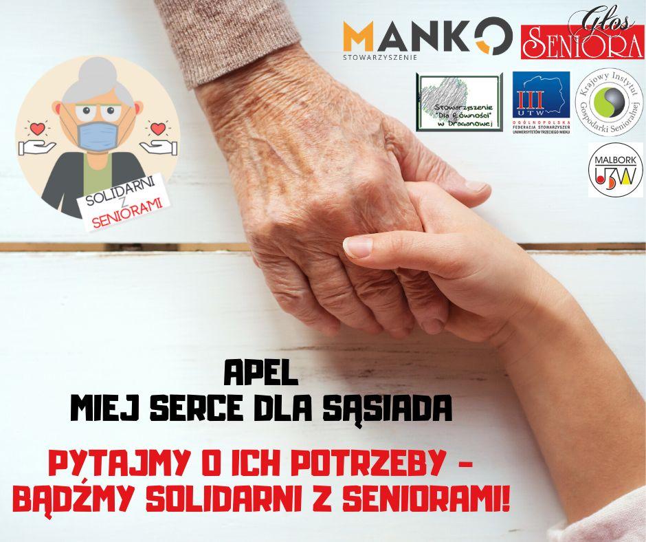 apel – pomoc seniorom