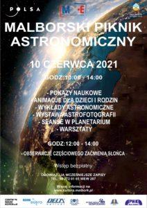 Malborski Piknik Astronomiczny @ CKiE Szkoła Łacińska