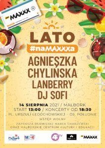 Dni Malborka – Lato na Maxxxa @ Plac U. Ledóchowskiej – Os. Południe