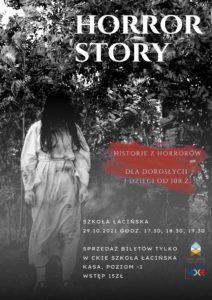 """"""" Horror Story"""" @ CKiE Szkoła Łacińska"""